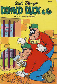 Cover Thumbnail for Donald Duck & Co (Hjemmet / Egmont, 1948 series) #28/1974