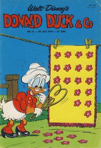 Cover Thumbnail for Donald Duck & Co (Hjemmet / Egmont, 1948 series) #31/1974