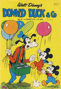 Cover Thumbnail for Donald Duck & Co (Hjemmet / Egmont, 1948 series) #32/1974