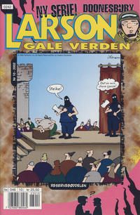 Cover Thumbnail for Larsons gale verden (Bladkompaniet, 1992 series) #10/2002