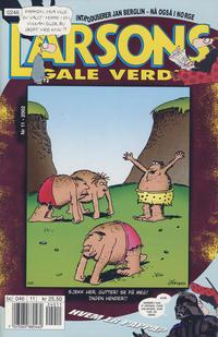 Cover Thumbnail for Larsons gale verden (Bladkompaniet / Schibsted, 1992 series) #11/2002