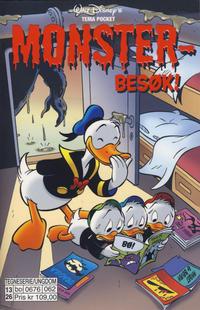 Cover Thumbnail for Donald Duck Tema pocket; Walt Disney's Tema pocket (Hjemmet / Egmont, 1997 series) #[58] - Monsterbesøk!
