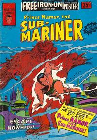 Cover Thumbnail for Prince Namor the Sub-Mariner (Newton Comics, 1976 series) #1