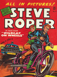 Cover Thumbnail for Steve Roper (Magazine Management, 1959 ? series) #4