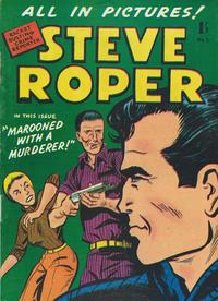 Cover Thumbnail for Steve Roper (Magazine Management, 1959 ? series) #5