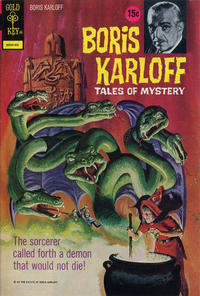 Cover Thumbnail for Boris Karloff Tales of Mystery (Western, 1963 series) #45 [15¢]