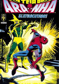 Cover Thumbnail for A Teia do Aranha (Editora Abril, 1989 series) #11
