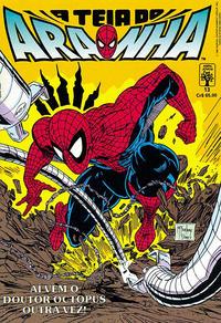 Cover Thumbnail for A Teia do Aranha (Editora Abril, 1989 series) #13