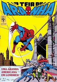 Cover Thumbnail for A Teia do Aranha (Editora Abril, 1989 series) #15