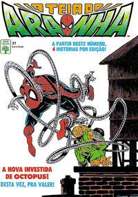 Cover Thumbnail for A Teia do Aranha (Editora Abril, 1989 series) #21