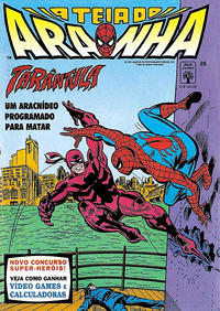 Cover Thumbnail for A Teia do Aranha (Editora Abril, 1989 series) #26
