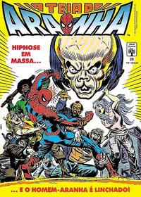 Cover Thumbnail for A Teia do Aranha (Editora Abril, 1989 series) #28