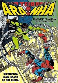 Cover Thumbnail for A Teia do Aranha (Editora Abril, 1989 series) #33