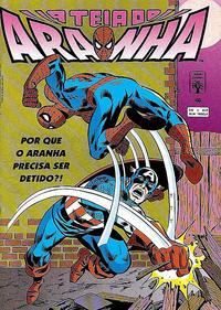 Cover Thumbnail for A Teia do Aranha (Editora Abril, 1989 series) #46