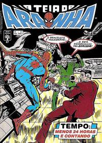 Cover Thumbnail for A Teia do Aranha (Editora Abril, 1989 series) #47
