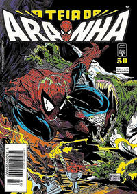Cover Thumbnail for A Teia do Aranha (Editora Abril, 1989 series) #50