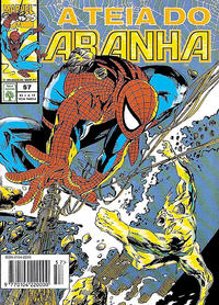 Cover Thumbnail for A Teia do Aranha (Editora Abril, 1989 series) #57