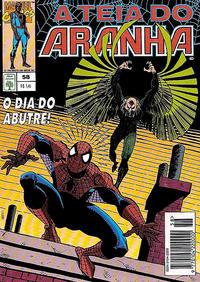 Cover Thumbnail for A Teia do Aranha (Editora Abril, 1989 series) #58