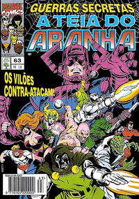 Cover Thumbnail for A Teia do Aranha (Editora Abril, 1989 series) #63