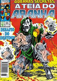 Cover Thumbnail for A Teia do Aranha (Editora Abril, 1989 series) #65