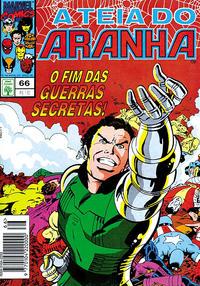Cover Thumbnail for A Teia do Aranha (Editora Abril, 1989 series) #66