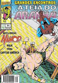 Cover Thumbnail for A Teia do Aranha (Editora Abril, 1989 series) #71