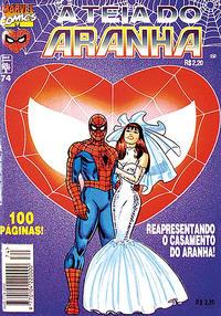 Cover Thumbnail for A Teia do Aranha (Editora Abril, 1989 series) #74