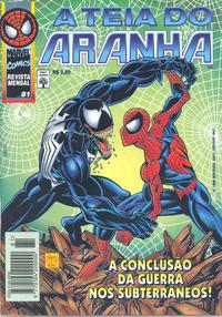 Cover Thumbnail for A Teia do Aranha (Editora Abril, 1989 series) #81