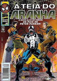 Cover Thumbnail for A Teia do Aranha (Editora Abril, 1989 series) #82