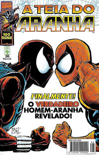 Cover Thumbnail for A Teia do Aranha (Editora Abril, 1989 series) #96
