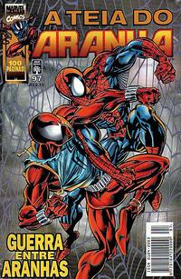 Cover for A Teia do Aranha (Editora Abril, 1989 series) #97