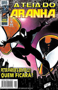 Cover Thumbnail for A Teia do Aranha (Editora Abril, 1989 series) #98