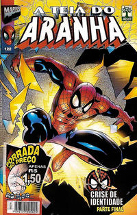 Cover Thumbnail for A Teia do Aranha (Editora Abril, 1989 series) #122