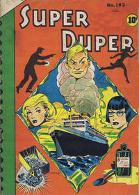 Cover Thumbnail for Super Duper (Bell Features, 1950 series) #193