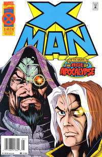 Cover Thumbnail for X-Man (Marvel, 1995 series) #3 [Newsstand]