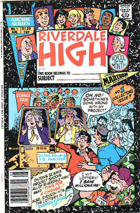 Cover Thumbnail for Riverdale High (Archie, 1990 series) #1 [Canadian]