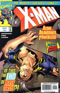 Cover Thumbnail for X-Man (Marvel, 1995 series) #29 [Direct Edition]