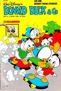 Cover Thumbnail for Donald Duck & Co (Hjemmet / Egmont, 1948 series) #14/1989