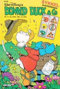 Cover Thumbnail for Donald Duck & Co (Hjemmet / Egmont, 1948 series) #17/1989