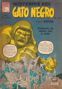 Cover Thumbnail for Misterios del Gato Negro (Editora de Periódicos La Prensa S.C.L., 1953 series) #119