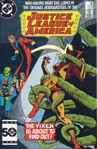 Cover for Justice League of America (DC, 1960 series) #247 [Direct]