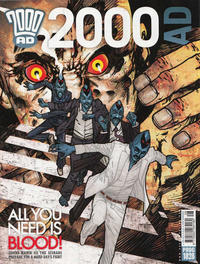 Cover Thumbnail for 2000 AD (Rebellion, 2001 series) #1828