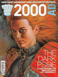 Cover Thumbnail for 2000 AD (Rebellion, 2001 series) #1833