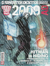 Cover Thumbnail for 2000 AD (Rebellion, 2001 series) #1832