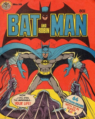 Cover for Batman and Robin (K. G. Murray, 1976 series) #18