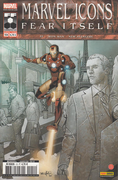 Cover for Marvel Icons (Panini France, 2011 series) #12A