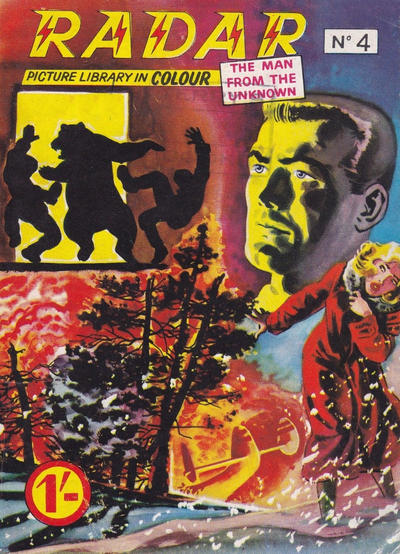 Cover for Radar Picture Library in Colour [Radar the Man from the Unknown] (Famepress, 1962 series) #4