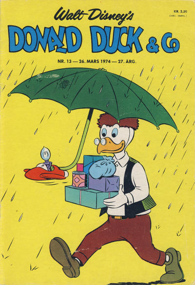 Cover for Donald Duck & Co (Hjemmet / Egmont, 1948 series) #13/1974