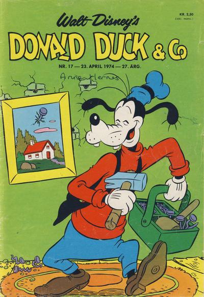 Cover for Donald Duck & Co (Hjemmet / Egmont, 1948 series) #17/1974