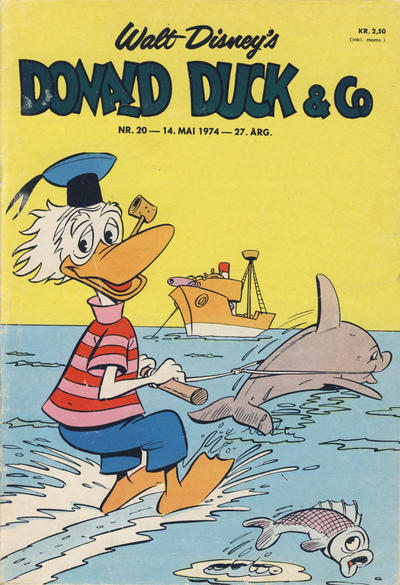 Cover for Donald Duck & Co (Hjemmet / Egmont, 1948 series) #20/1974